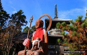 Chùa Ryozen-ji - điểm bắt đầu của con đường hành hương Ohenro