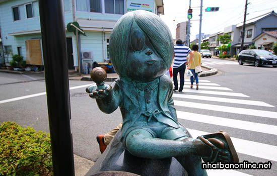 Con đường Mizuki Shigeru - tỉnh Tottori Japan