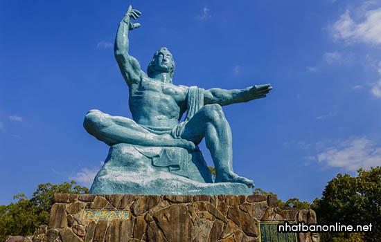 Công viên hòa bình Nagasaki - tỉnh Nagasaki Japan