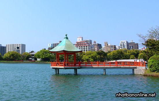 Công viên Ohori - tỉnh Fukuoka Japan