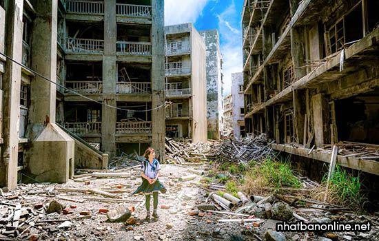Đảo Hashima - tỉnh Nagasaki Japan