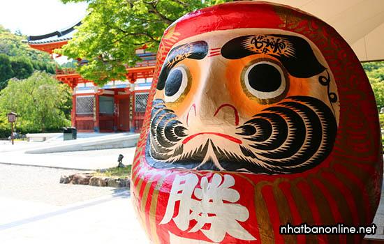 Daruma ở chùa Katsuo-ji - tỉnh Osaka Japan