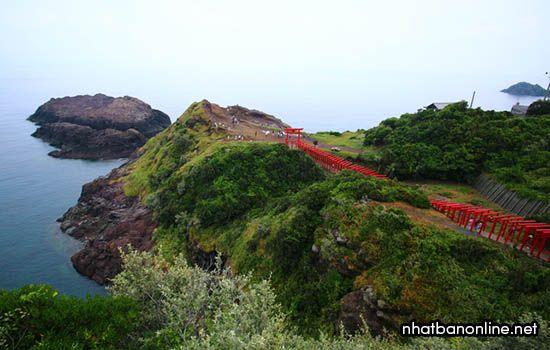Đền Motonosumi-Inari - tỉnh Yamaguchi Nhật Bản