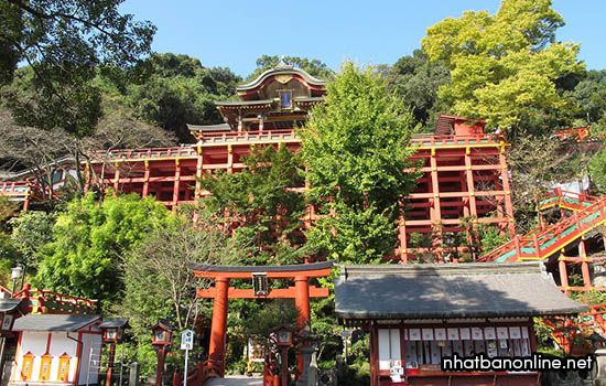 Đền Yutoku Inari jinja - tỉnh Saga Japan