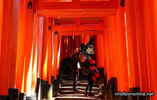 Đền thờ Fushimi Inari taisha - tỉnh Kyoto Japan