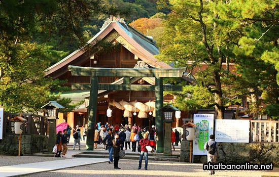 Đền thờ Izumo Taisha - tỉnh Shimane Japan