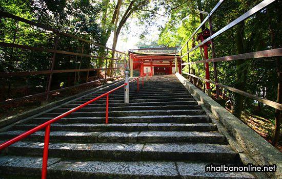 Đền thờ Kibitsu-jinja - tỉnh Okayama Japan