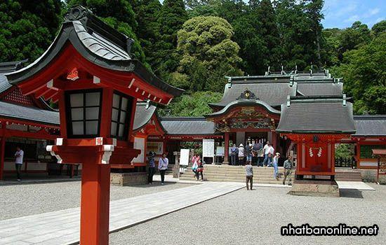 Đền thờ Kirishima - tỉnh Kagoshima Japan