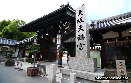 Đền thờ Osaka Tenman - tỉnh Osaka Japan