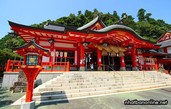 Đền thờ Taikodani Inari jinja - tỉnh Shimane Japan