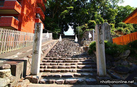 Đền thờ Yu Jinja - tỉnh Ehime Japan