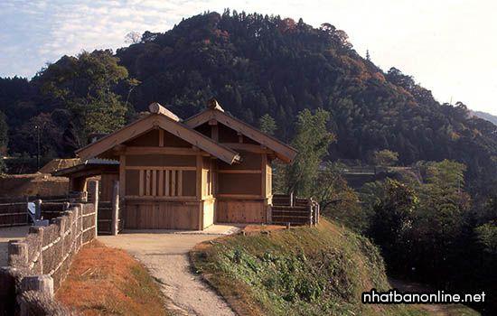 Di tích thành Gassan Toda - tỉnh Shimane Japan