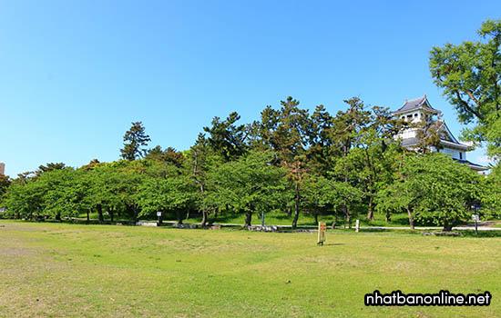 Di tích thành Nagahama - tỉnh Shiga Japan