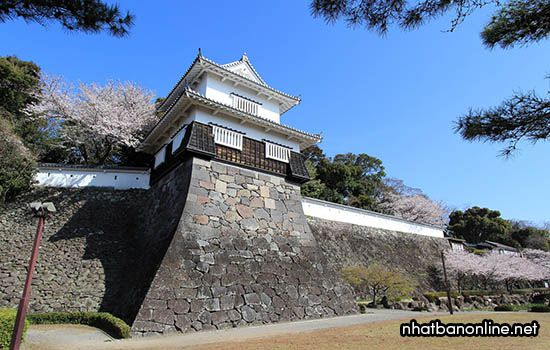 Di tích thành Kushima - tỉnh Nagasaki Japan
