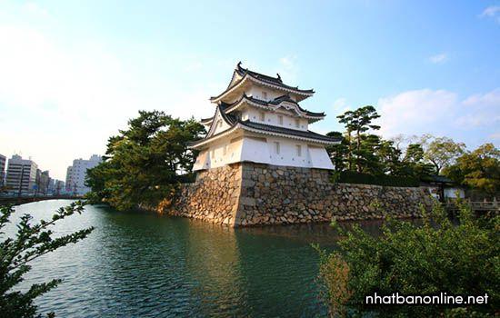 Di tích thành Takamatsu - tỉnh Kagawa Japan