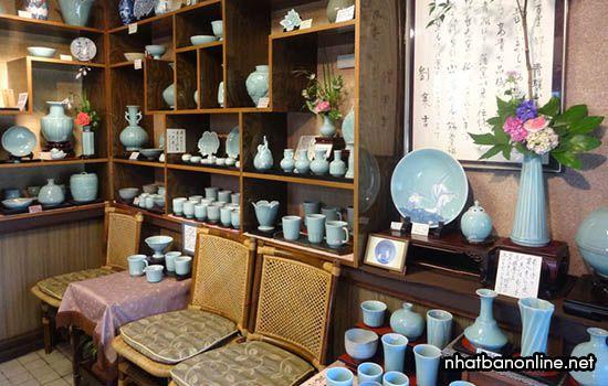 Làng gốm men ngọc bích Choshun - tỉnh Saga Japan