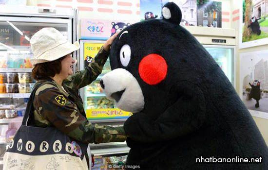 Kumamon - linh vật của tỉnh Kumamoto Japan