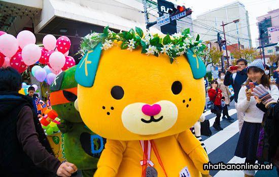 Mican - linh vật của tỉnh Ehime Japan