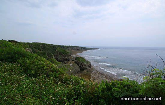 Mũi đất Kiyan - tỉnh Okinawa Japan