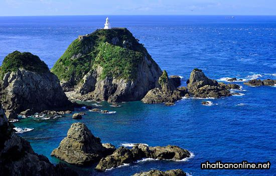 Mũi đất Sata - tình Kagoshima Japan