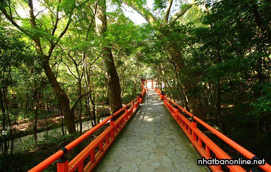 Đền Usa - tỉnh Oita Japan