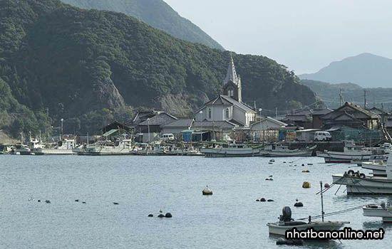 Nhà thờ Sakitsu - tỉnh Kumamoto Japan