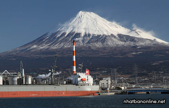 Núi Phú Sĩ - tỉnh Shizuoka Japan