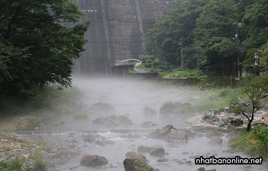 Suối nước nóng Yubara - tỉnh Okayama Japan