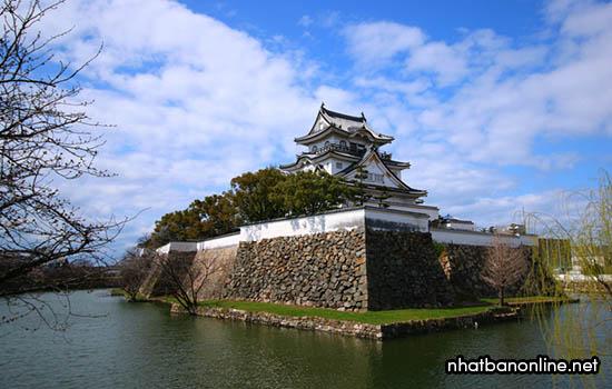 Thành Kishiwada - tỉnh Osaka Japan