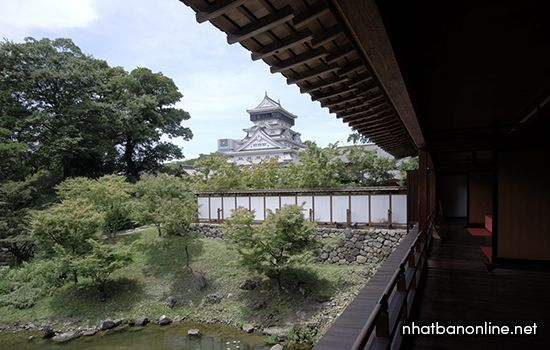 Thành Kokura (Katsuyama) tỉnh Fukuoka Nhật Bản