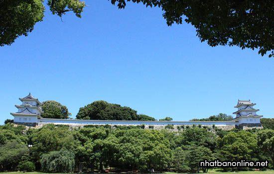 Thành Akashi - tỉnh Hyogo Japan