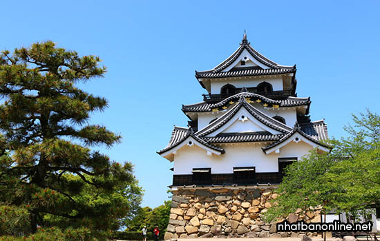 Thành Hikone - tỉnh Shiga Nhật Bản