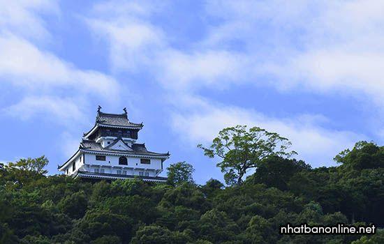 Thành Iwakuni - tỉnh Yamaguchi Nhật Bản