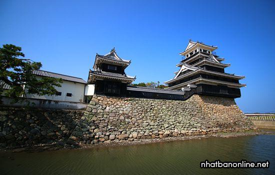 Thành Nakatsu - tỉnh Oita Japan