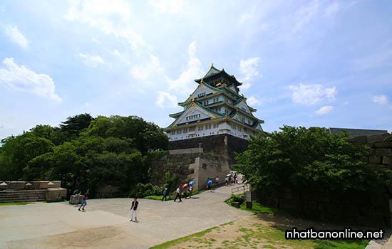 Thành Osaka - tỉnh Osaka Nhật Bản