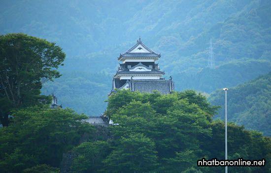 Thành Ozu - tỉnh Ehime Nhật Bản