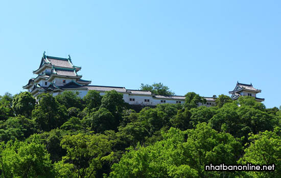 Thành Wakayama - tỉnh Wakayama Japan
