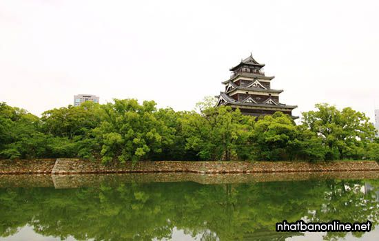 Thành Hiroshima - Tỉnh Hiroshima Japan