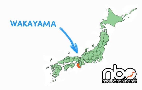 Tỉnh Wakayama số bao nhiêu
