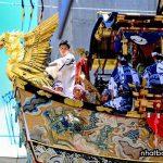 Lễ hội Gion được diễn ra trong suốt tháng 7