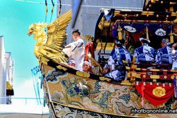 Lễ hội Gion ở Kyoto, một trong ba lễ hội hoành tráng nhất Nhật Bản