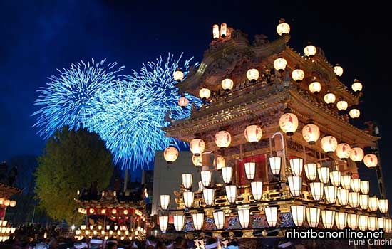 Lễ hội đêm Chichibu ở Saitama