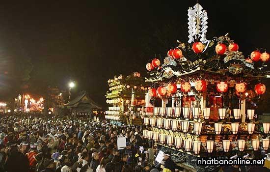 Hơn 400.000 người tham gia lễ hội Chichibu