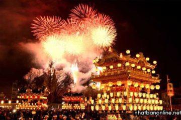 Lễ hội đêm Chichibu ở Saitama, một trong ba lễ hội lớn nhất Nhật Bản