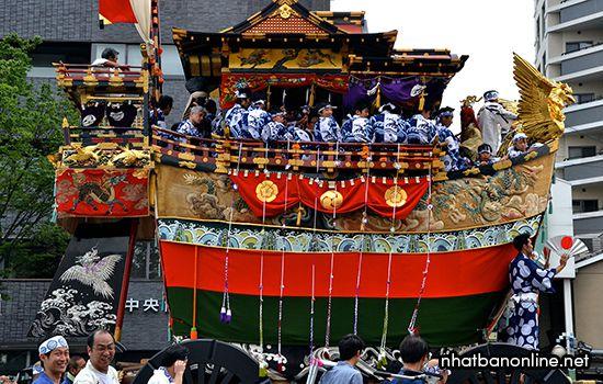 Lễ hội Gion ở Kyoto