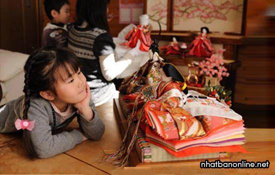 Lễ hôi Hina Matsuri diễn ra vào ngày 03/03 hàng năm