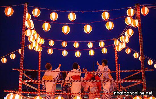 Lễ hội Obon Festival ở Nhật