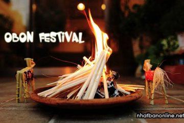 Lễ hội Obon ở Nhật Bản, ngày lễ vu lan của nước Nhật