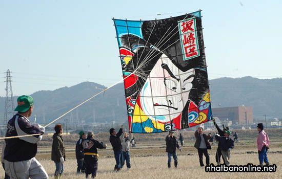Lễ hội thả diều ở Nhật Bản - Takoage Matsuri