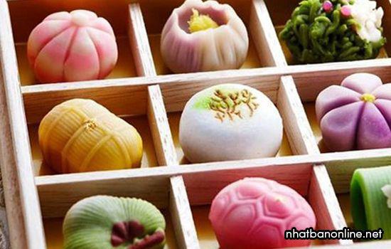 Bánh mochi Nhật Bản